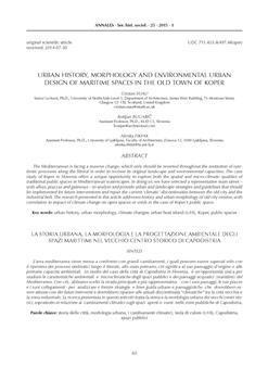 dLib si - Urban history, morphology and environmental urban