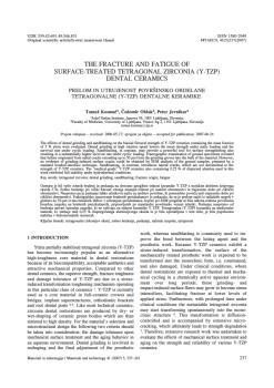 dLib si - The fracture and fatigue of surface-treated
