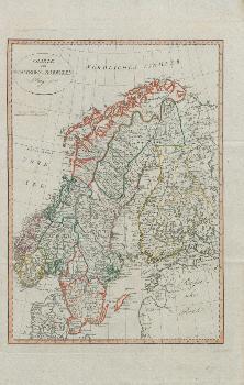 Schweden Karte Pdf.Dlib Si Karte Von Schweden Und Norwegen